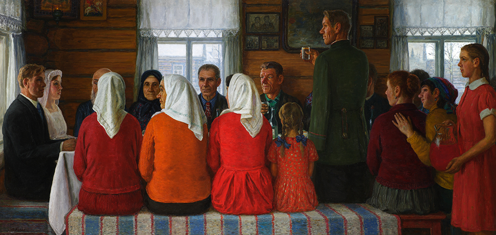 Юрий Кугач «Свадьба», 2000