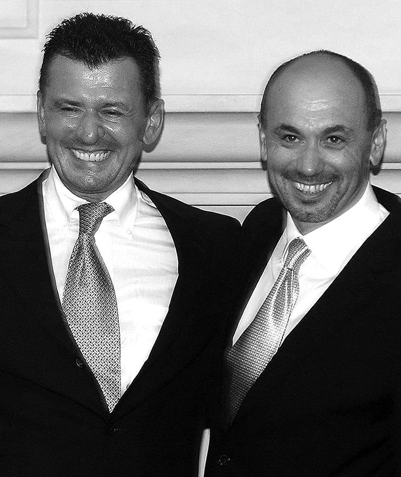 До 90% импорта польской нефти приходилось на компанию Гжегожа Янкилевича (слева) и Славмира Смолоковского