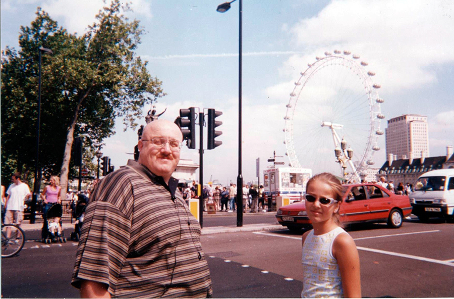 В Лондоне 2001 г.