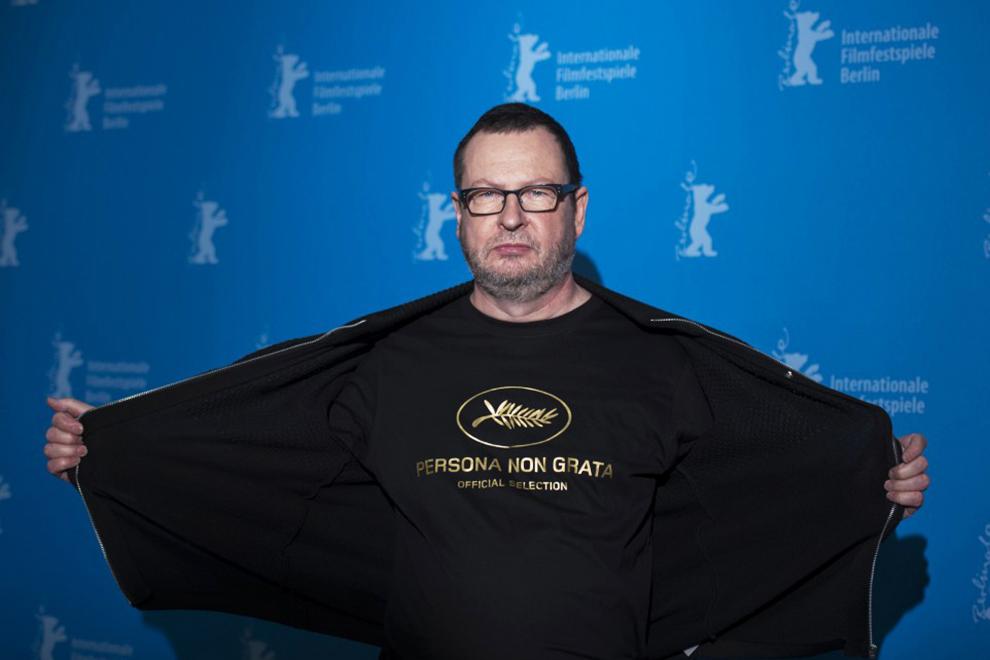 Ларс фон Триер на Берлинском кинофестивале