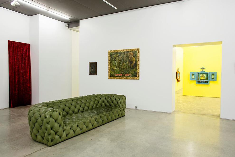Выставка Комара и Меламида в Музее АРТ4