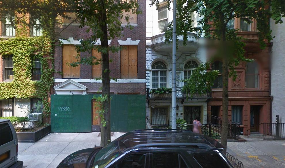 Особняки по адресу 11 East 75th Street в Нью-Йорке.