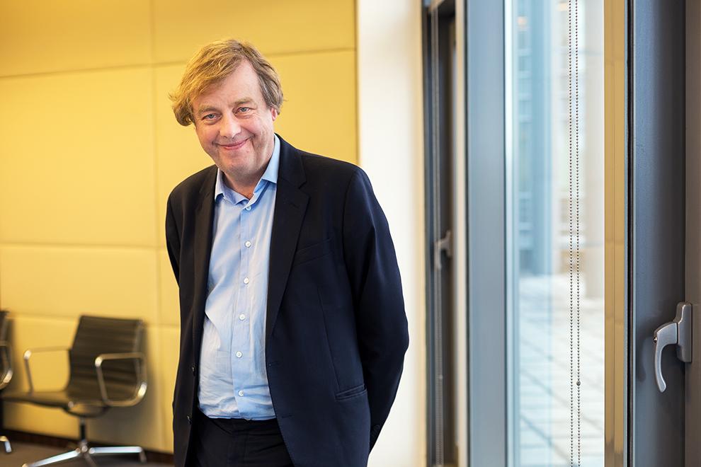 Алистер Хикс главный куратор коллекции Deutsche Bank