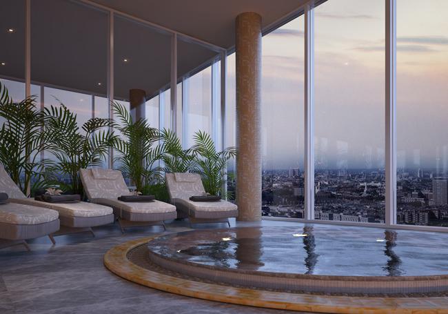 Роскошные апартаменты в Лондоне.