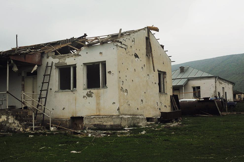В дом местного фермера 2 апреля попал снаряд, никто из семьи не погиб