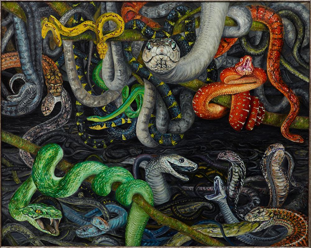 «Структуризация рынка» картина Инны Бельтюковой из серии «Бизнес-Аллегории»
