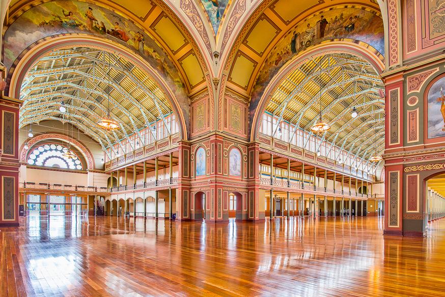 В Королевском павильоне в Мельбурне когда-то заседал парламент, а сейчас проводятся разные выставки.