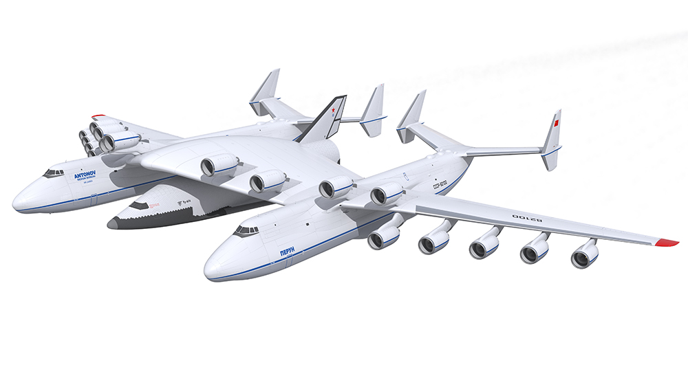 Последний советский проект сверхтяжелой авиационно-космической системы с самолетом носителем ОКБ Антонова и одноступенчатым воздушно-космическим самолетом ОКБ Туполева.
