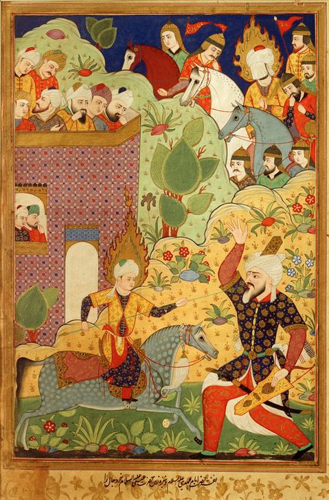Исламские хасиды со временем начали придавать битвам духовное измерение, чего не было в Коране