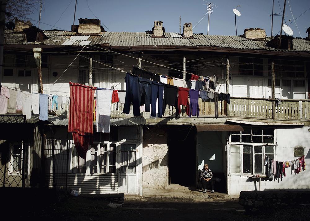 На одной из улиц Степанакерта