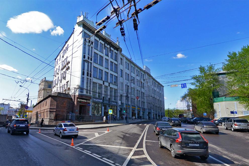 «Многофункциональный комплекс Варварка» до ремонта