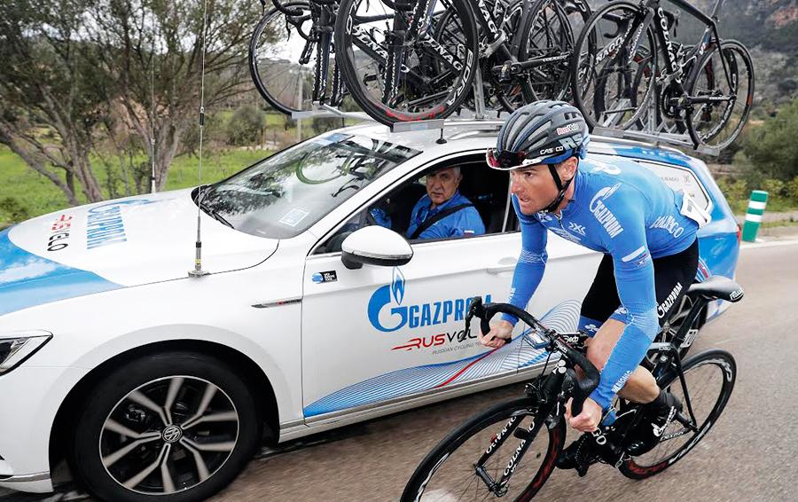 5 мая 2017 года «Газпром-РусВело» стартует в юбилейной 100-й веломногодневке «Джиро д'Италия». За три недели гонщикам предстоит проехать 3615 км
