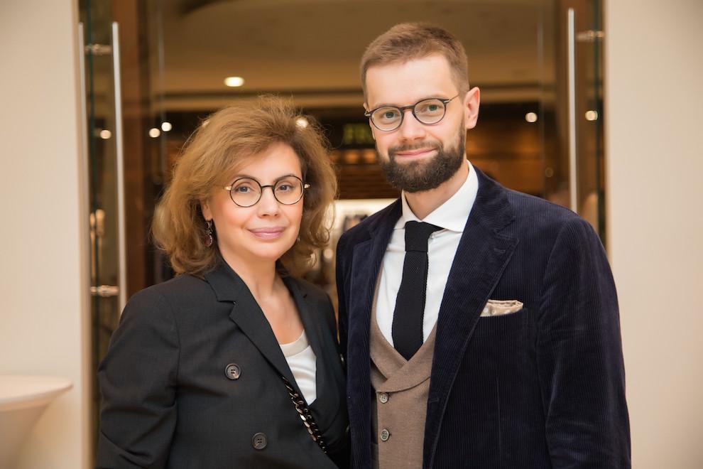 Виктория и Дмитрий Саава в Brunello Cucinelli («Кашемир и Шелк»)