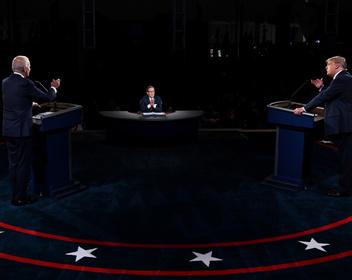 «Заткнешься ты когда-нибудь?»: первые дебаты Трампа и Байдена свелись к взаимным оскорблениям