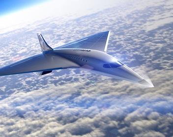 Компания миллиардера Брэнсона показала дизайн самого быстрого пассажирского самолета