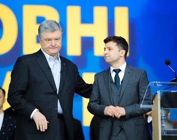 «Я результат ваших ошибок, Петр Алексеевич»: дебаты Зеленского и Порошенко в цитатах