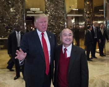 Обещанного три года ждут: сможет ли глава SoftBank сдержать обещание Трампу