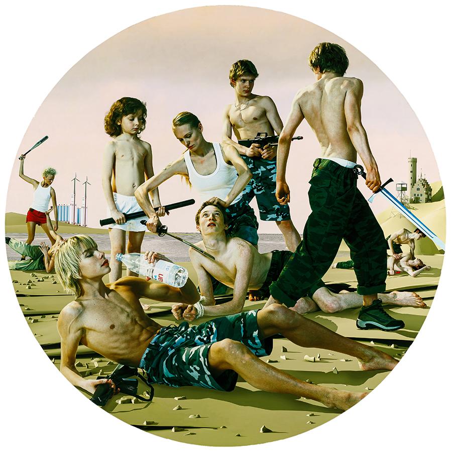 Группа AES+F. Последнее восстание 2. Тондо #2 (2007). Из коллекции Пумпянского
