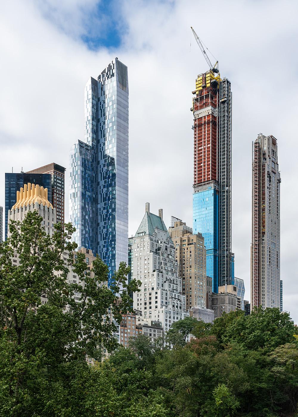 Central Park Tower — самое высокое жилое здание в мире