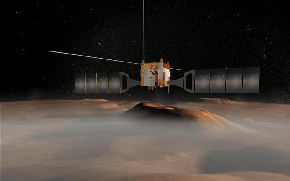 Корабль Mars Express Европейского космического агентства