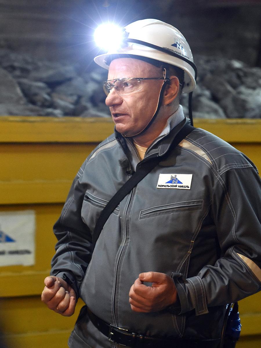Генеральный директор ПАО «ГМК «Норильский никель» Владимир Потанин.
