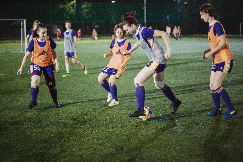 Тренировка женской команды