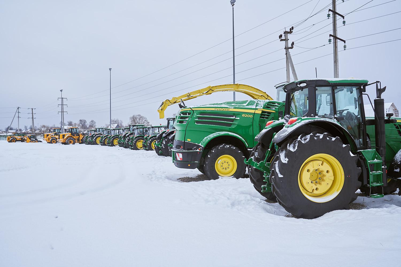 В собственном парке «Эконивы» 10 000 единиц сельcкохозяйственной техники