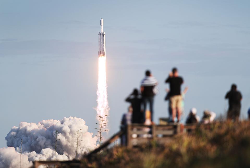 Старт SpaceX Falcon, 2019 год