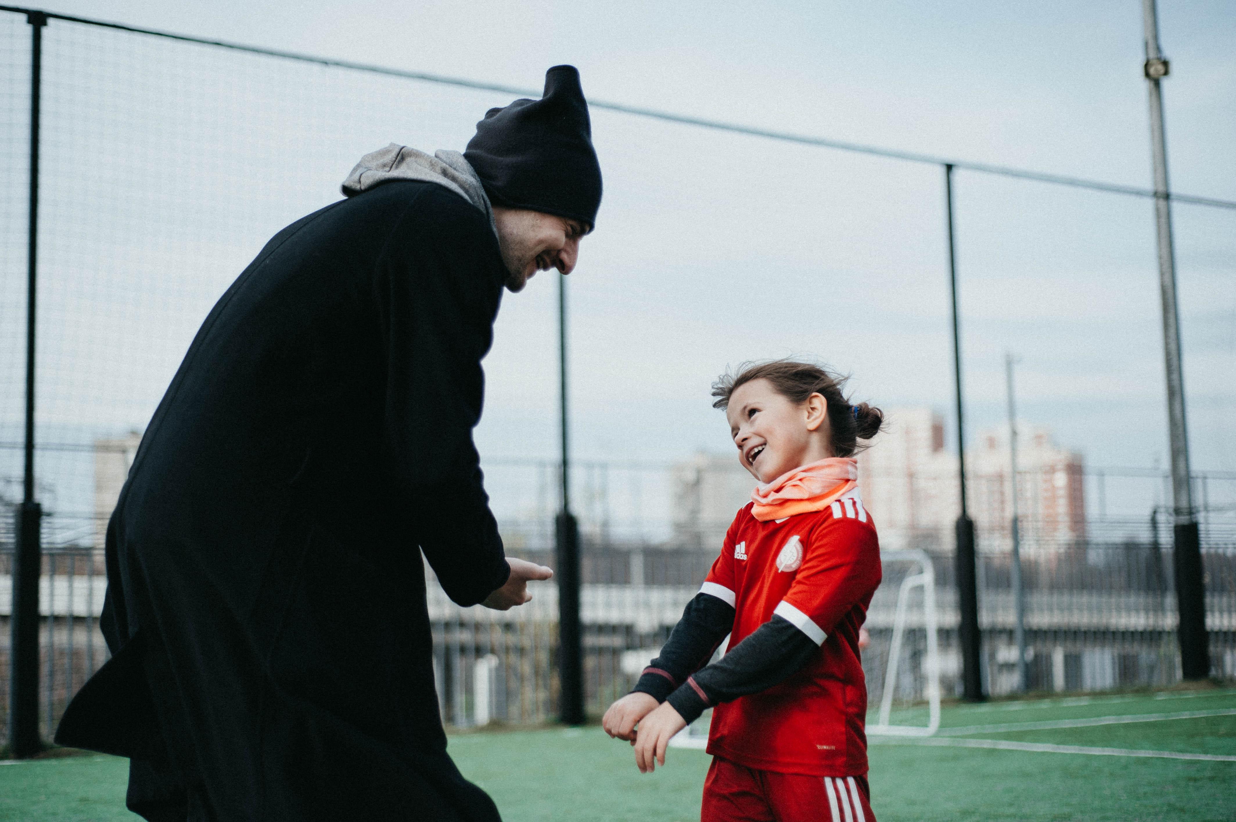 Владимир Долгий-Рапопорт во время тренировки детской команды