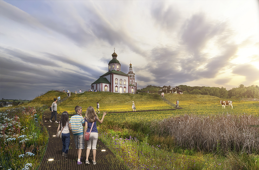 К 2024 году в Суздале планируют отреставрировать более 20 церквей