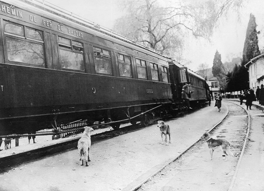 Cтанция Багдадской железной дороги в Турции. 1908 год (  Getty Images )