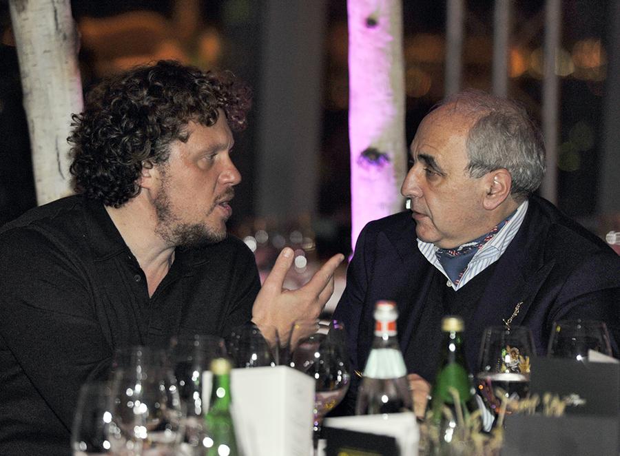 Сергей Полонский (слева) и Александр Добровинский (справа) ( Глеб Щелкунов / Коммерсантъ )