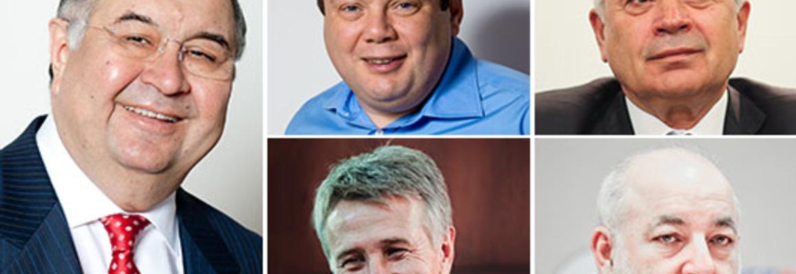 Российские миллиардеры в мировом рейтинге Forbes — 2013