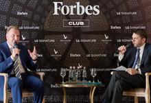 Forbes Club с главой ВЭБа Игорем Шуваловым