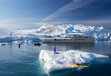 Ледокол Тинькова. Зачем банкиру первая в мире яхта, способная плавать в Антарктике