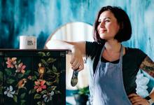 Как молодая мать построила бизнес с оборотом 100 млн в год на красках для мебели