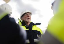 «Жест гражданской ответственности»: Леонид Михельсон и архитектор Ренцо Пьяно показали ГЭС-2 на острове Балчуг