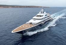 Яхта российского бизнесмена за $300 млн станет самой длинной на шоу в Монако