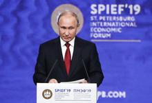 «Бизнесменам в США дают по 100-150 лет тюрьмы — и ничего». Выступление Владимира Путина на ПМЭФ