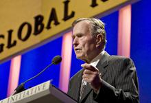 Cчастливый отец и свидетель перемен. Каким мир запомнит Джорджа Буша-старшего