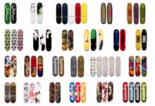 На онлайн-торгах Sotheby's за $1,2 млн выставлена коллекция скейтбордов Supreme