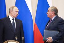 Сечин попросил у Путина о льготах на сотни миллиардов рублей