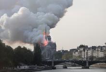 Пожарные заявили о спасении конструкции Нотр-Дам-де-Пари от обрушения