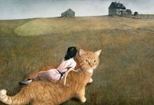 Кот напал на портрет XVII века. Что еще сделали коты в искусстве?