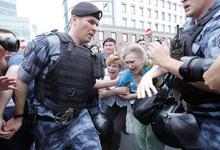 МВД сообщило о задержании более 200 человек на акции в Москве