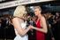 Певица Леди Гага (слева) и актриса Шарлиз Терон