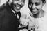 Мандела и его вторая жена Винни. День свадьбы, 1957 год