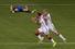 Марио Гетце празднует гол в ворота сборной Аргентины