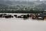 Проливные дожди вызвали наводнение в коммуне Кессен в Австрии
