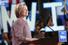 Хиллари Клинтон в пальто от Armani